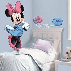 Details about Minnie Mouse Vinilos Decorativo Calcomanias Para Pared  Dormitorio De Cuarto Niña