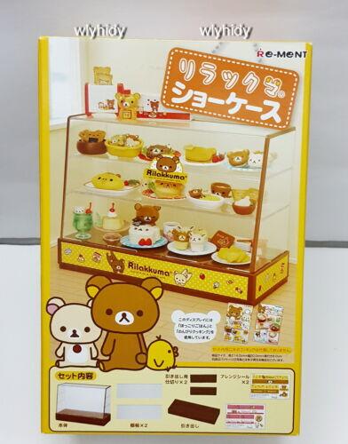 Re-ment     == Miniatures San-X Rilakkuma Display Showcase Box Set
