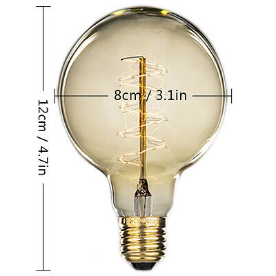 E27 40W Vintage Edison Style Industrial Retro DIY Light Chandelier Ceiling Lamps