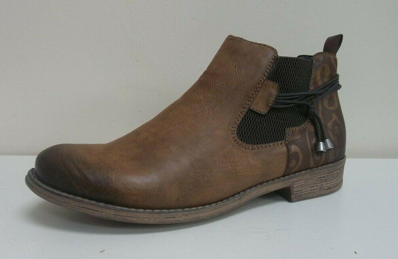 Rieker ladies tan lace detail ankle boots,  BNWB