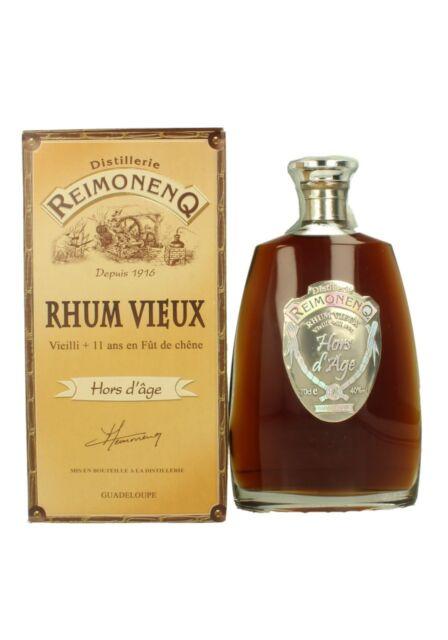 1 bt. RHUM HORS D'AGE 40% REIMONENQ AST. (vielli plus de 11 ans...)