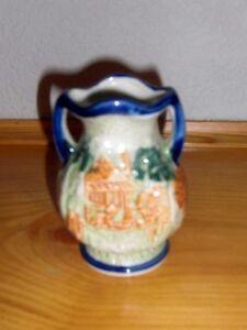 Ceramic Oriental/Japanese Vase Japan 52 Vintage