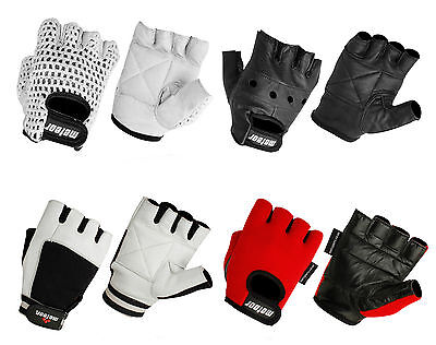 Padded Cycle Gloves, Mesh Training Fitness Gym Bodybuilding Weight Lifting Glove