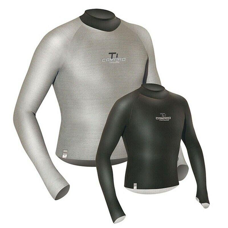 Camaro Titanium camiseta camuflaje neopreno opaca unisex negro
