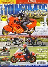 YOUNGTIMERS MOTO 18 BMW K1 HONDA CB 125 K3 TRIUMPH X75 Hurricane JAPAUTO VX 1000