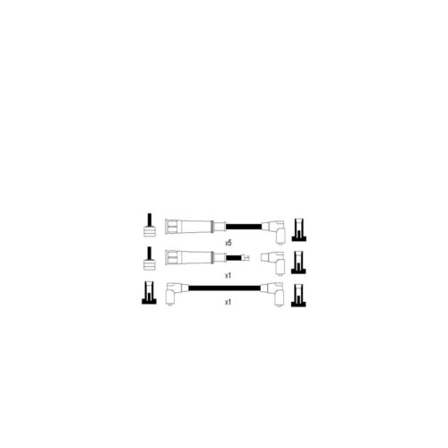 Fits bmw 6 series E24 635 csi variante 1 cambiare câble d/'allumage ht plomb kit
