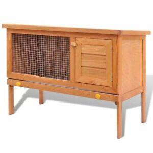 vidaXL-Wooden-Rabbit-Hutch-36-034-Bunny-Pet-Cage-Small-Animal-House-Chicken-Coop