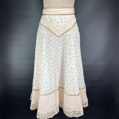 1970s Prairie Skirt Jessica's Gunnies Gunne Sax Sz