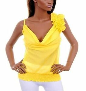 Yellow Blouse With Ruffles 13