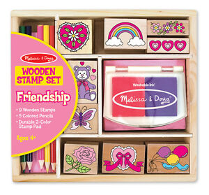 FRIENDSHIP-STAMP-SET-1632-ART-KIT-Melissa-amp-and-Doug