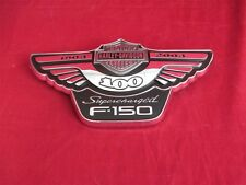 NOS Harley Davidson Ford Supercharged F150 100 Year Nameplate Emblem Right Hand