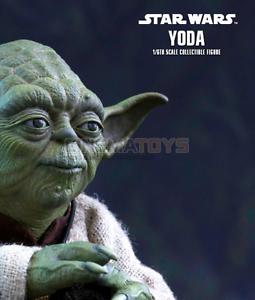 STAR-WARS-Yoda-Sixth-Escala-Figura-Hot-Toys-Sideshow-Pelicula-Obra-maestra-MMS