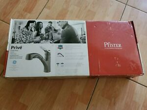 Pfister F 534 7pvsl Slate Finish Prive Pull Out Single Handle Kitchen Faucet 38877597934 Ebay