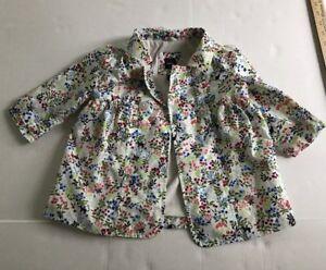 Baby & Toddler Clothing Cherokee Girls Lightweight Jacket 18months Euc Outerwear