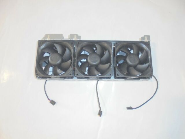 GENUINE Dell Precision T5810 T7910 3 Front Fan Cooling Assembly 1B33FUE00 Y1F7R