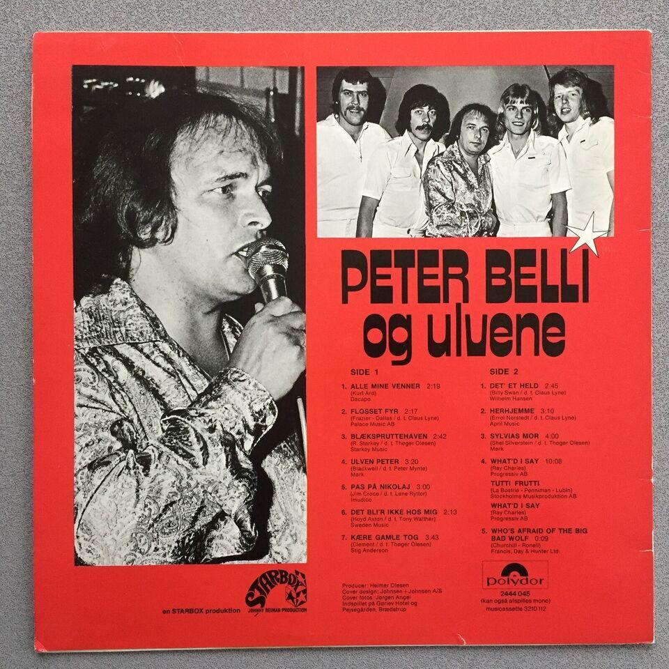 LP, Peter Belli Og Ulvene , Peter Og Ulvene