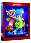 Blu Ray INSIDE OUT- 3D (2015) (Blu-Ray 3D + Blu-Ray Disc) ....NUOVO