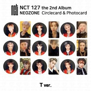 NCT127-2nd-Album-NCT-127-NEO-ZONE-Official-Photocard-Circle-card-T-Ver-KPOP