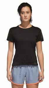 Adidas-Performance-Camiseta-de-correr-mujer-Response-manga-corta-negro