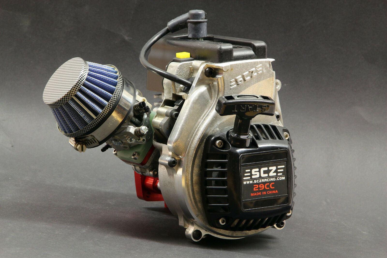29ccm scz tuningmotor motor 9ps membrana control walbro wt1107 hpi Losi FG nuevo