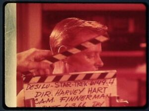 Star-Trek-TOS-35mm-Film-Clip-Slide-Mudd-039-s-Women-Clapper-Board-Farrell-1-6-14