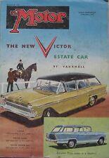 Motor magazine 20/8/1958 featuring Fiat 1200 Granluce road test