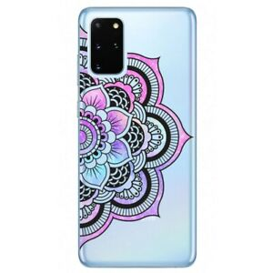 Coque Galaxy Note 10 LITE mandala 1 rose pastel