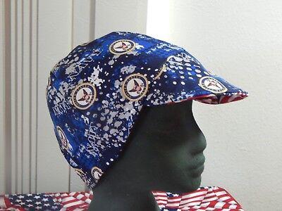 Welding Hat Biker Cap $7.50 each Wild Turkey Hunter Red/'s American Made