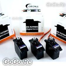 3 Pcs Corona Digital Servo Metal Gear for Trex T-Rex Helicopter 250 450 DS929MG
