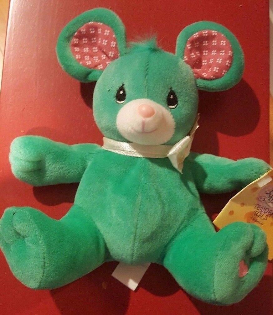 Precious Moments Tender Tails Rosie the Green Bear Limited Edition