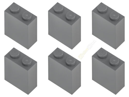 6x LEGO® 3245c 1x2x2 Stein Säule neu-dunkelgrau NEU