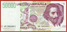 BANCA d'ITALIA 27.5.1992 50,000 LIRE (PICK#116c) CH CU