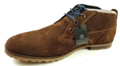 bugatti Herren Halbschuhe Desert Boots Gr.43 //A1102