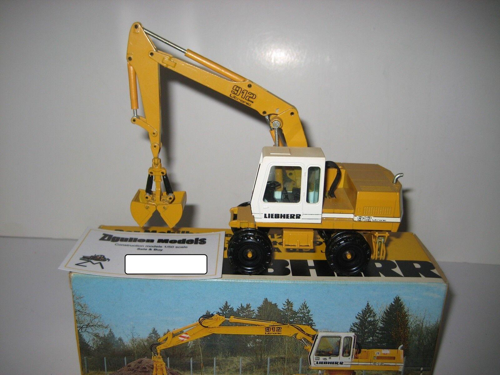 Liebherr A 912 912 912 Excavateurs Pince Mobile #2830.1 CONRAD 1:50 NEUF dans sa boîte | Terrific Value  f6cfbb