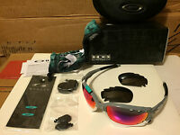 Oakley 30 Years Racing Jacket Polished Fog 2 Sets Lens +red &black Oo9171-23