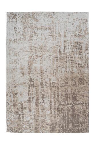 Teppich Modern Vintage Verwaschen Used Look Beige Creme Grau 150x240cm