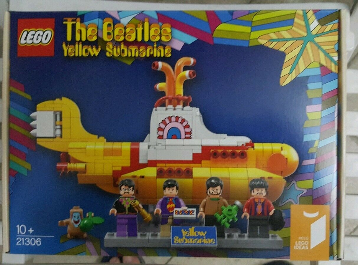 Lego 21306 Ideas Gelb Submarine Nuovo no difetti box integro