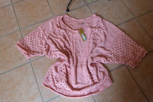 Pullover Lagenlook Rosé Loch 50 Stretch Labass Pink 48 52 par exemple Effects Neu 7HqxZd4zw