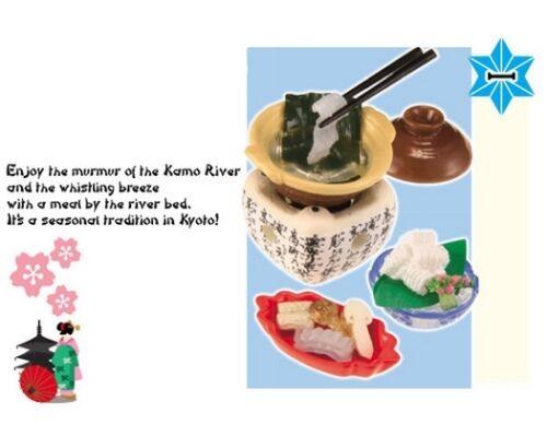 Re-Ment Doll Miniature I Love Kyoto #1 Kamo River Meal Blythe Barbie