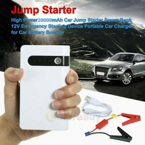 Details About 20000mah Portable Car Jump Starter Power Bank Vehicle Battery Charger Engine 12v