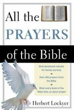 All the Prayers of the Bible by Herbert Lockyer (1990, Paperback)