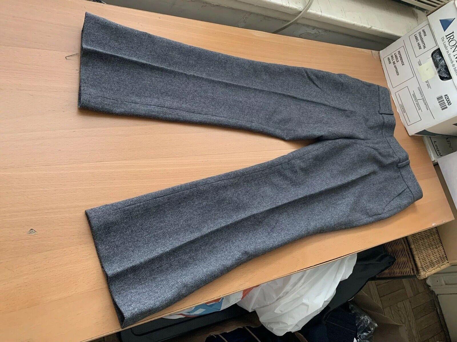 Club Monaco NWT  189.50 emmala low rise slim crop ankle pants grey size 0