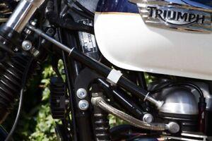 TEC-Adjustable-Steering-damper-kit-Triumph-Bonneville-SE-T100-Left-side-mount