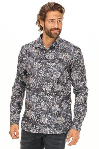 Sand Copenhagen-Camicia Iver UOMO NERA visita medica Designer Nuovo 119 €