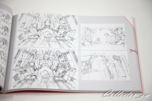 2-4 Days USDARLING in the FRANXX KEY ANIMATION NOTES Art Book