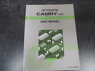 2001 Toyota Camry CNG Hybrid Sedan Electrical Wiring ...
