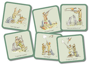 6-034-The-Shooting-Day-034-drinks-coasters-pheasants-black-labradors-amp-game-shotgun