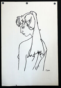 Picasso Woman Line