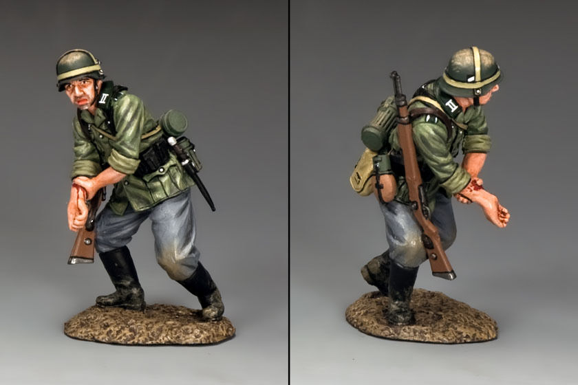 """KING AND AND COUNTRY WWII German """"Out-of-Action"""" WSS242 WS242"""