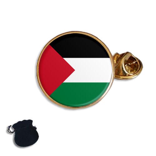 PALESTINE PALESTINIAN FLAG ENAMEL LAPEL PIN BADGE GIFT